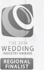 The 2014 Wedding Industry Awards Regional Finalist